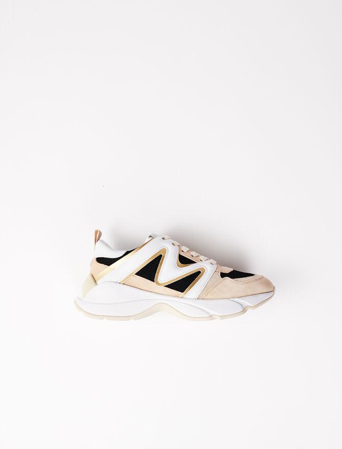 Sneaker W22 multi-materiale - Sneakers - MAJE