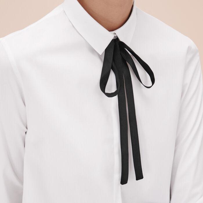 Camicia in popeline di cotone - Tops - MAJE