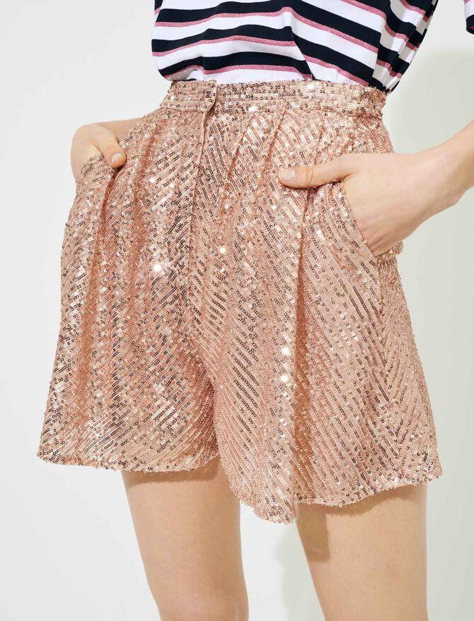 Short a lustrini - Gonne e shorts - MAJE