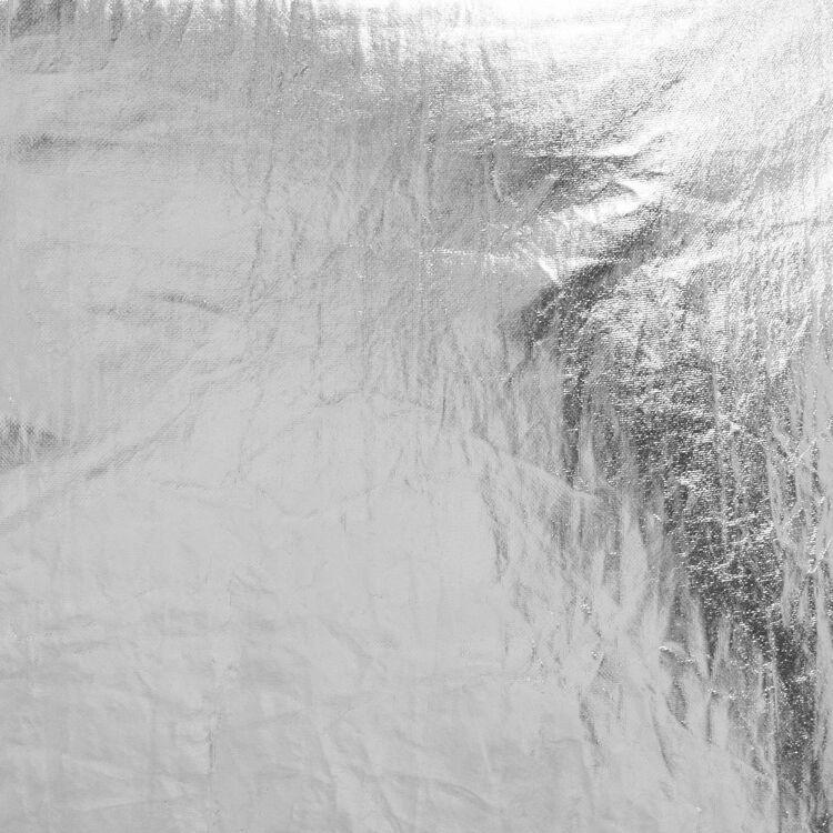 Marsupio in tessuto argentato con frange : Altre M colore Argento