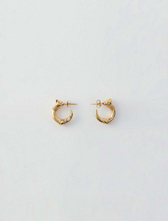 Small cat hoops - Gioelli - MAJE