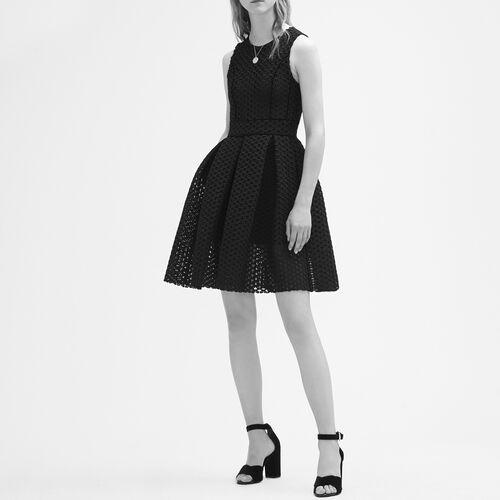 Abito senza maniche in tessuto tecnico : Vestiti colore Nero