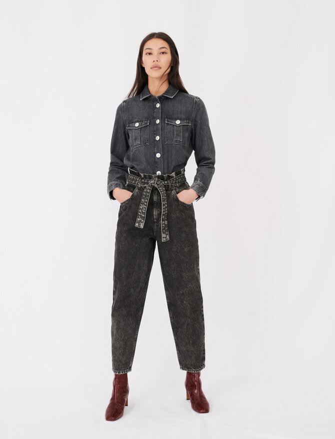 Jeans stile slouchy - eco-sostenibile - MAJE