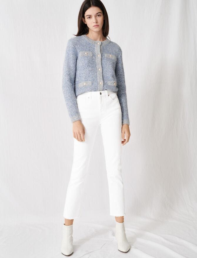 Jeans bianchi dritti -  - MAJE