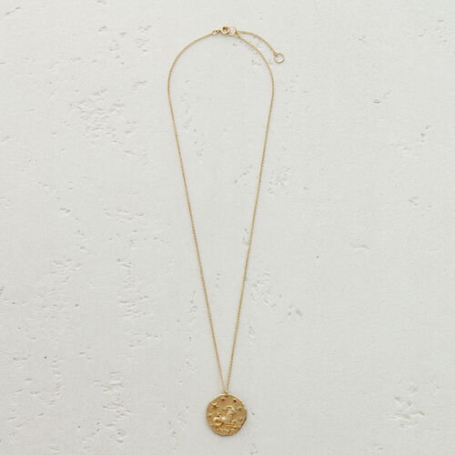 Collier Sternzeichen Steinbock : Charms colore OR