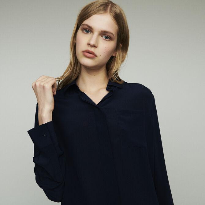 Camicia in seta - staff private sale 20 - MAJE