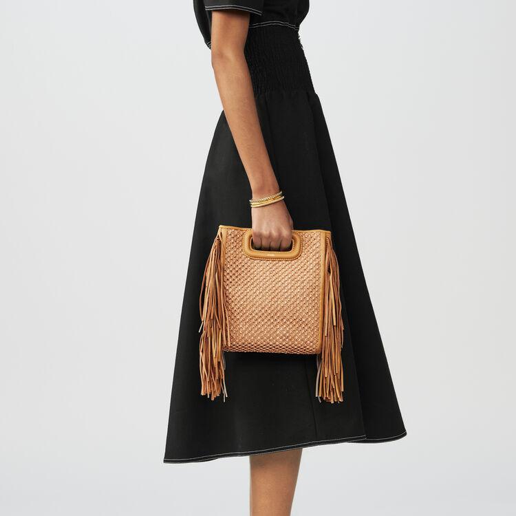Vestito con ricami punto smock : Vestiti colore Nero