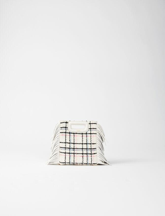 Borsa M mini in tweed con catena -  - MAJE