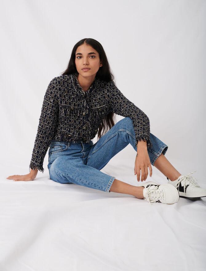 Jeans a vita alta -  - MAJE