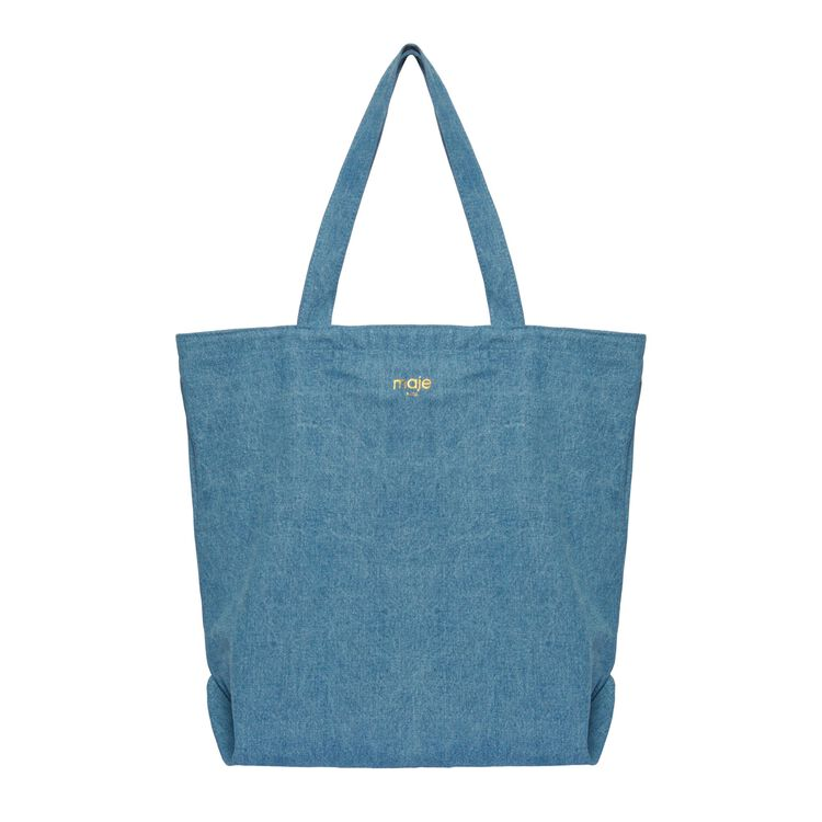 Shopping bag : Gift with purchase colore Denim