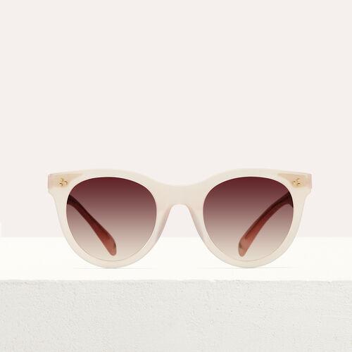 Occhiali da sole in acetato : See all colore Rosa