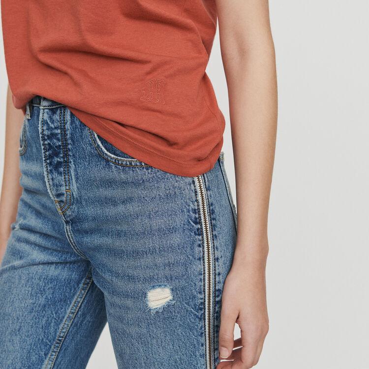 Short sleeve T-shirt : T-Shirts colore Terracotta
