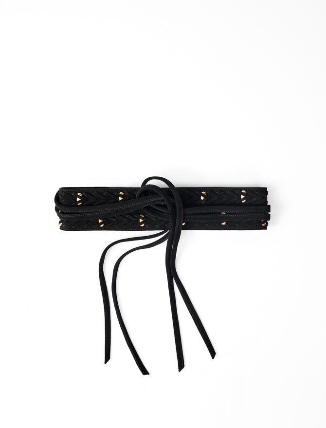 Cintura stile morsetti da annodare -  - MAJE