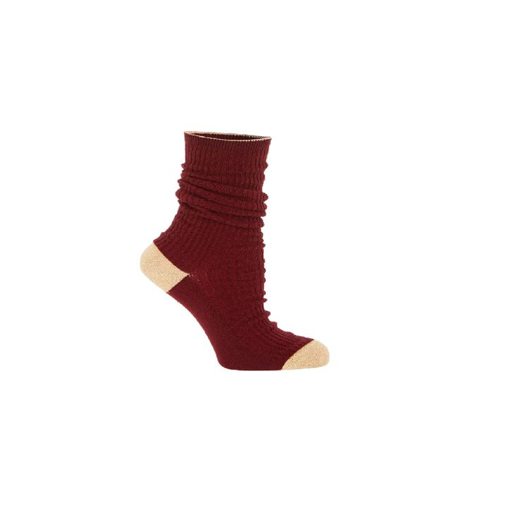 Calze : Gift with purchase colore Bordeaux