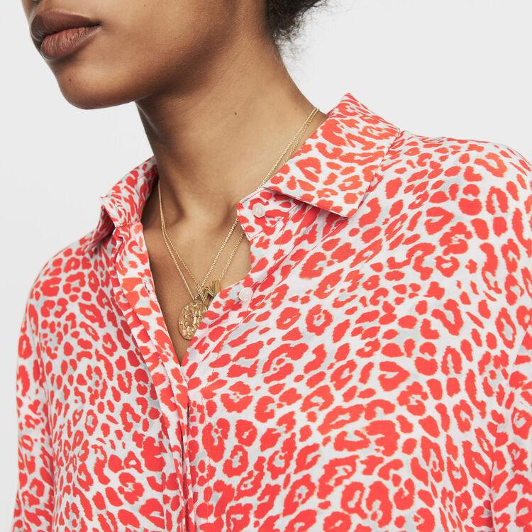 Camicetta con stampa leopardata : Prêt-à-porter colore IMPRIME