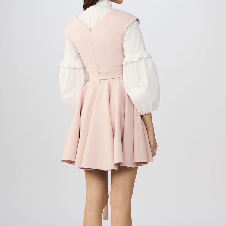 Sleeveless skater dress : Vestiti colore Rosa