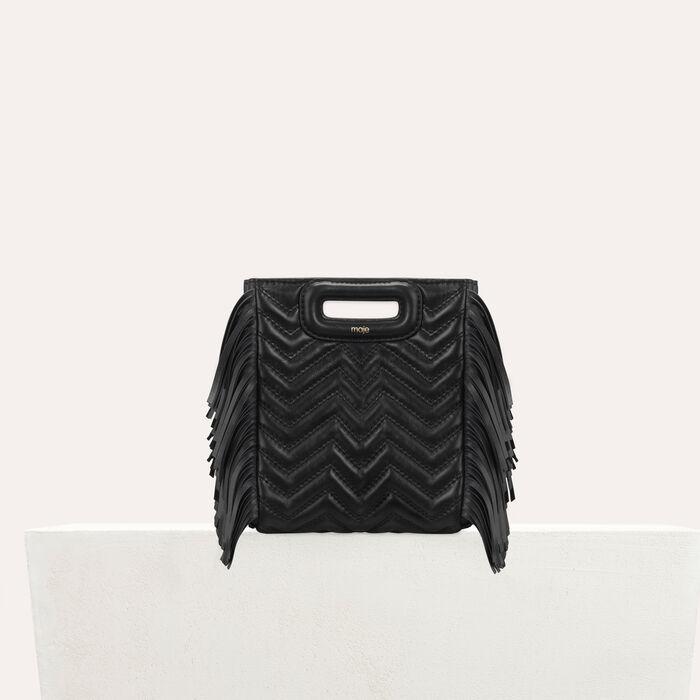 Mini-borsa M in pelle matellassè : M Mini colore Nero