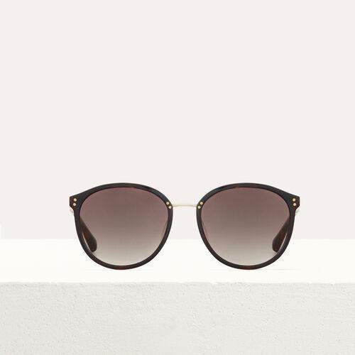 Occhiali da sole in acetato e metallo : Occhiali colore Rosa