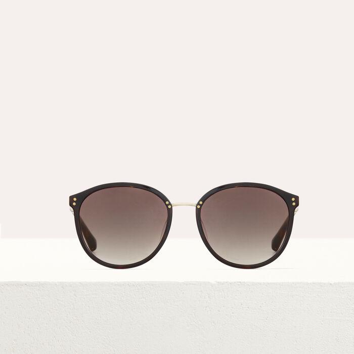Lunettes de soleil en acétate et métal : Occhiali colore Ecaille