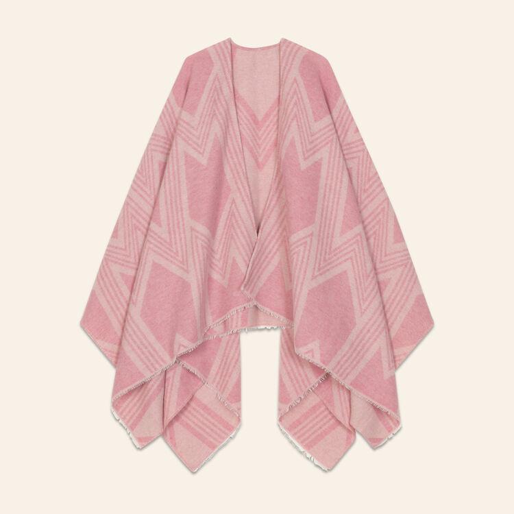 Poncho stampato a M : Vedi tutto colore Rosa