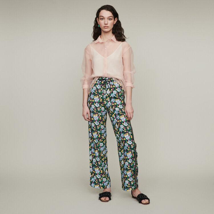 Pantalone  jogging con stampa floreale : Pantaloni e Jeans colore Stampato