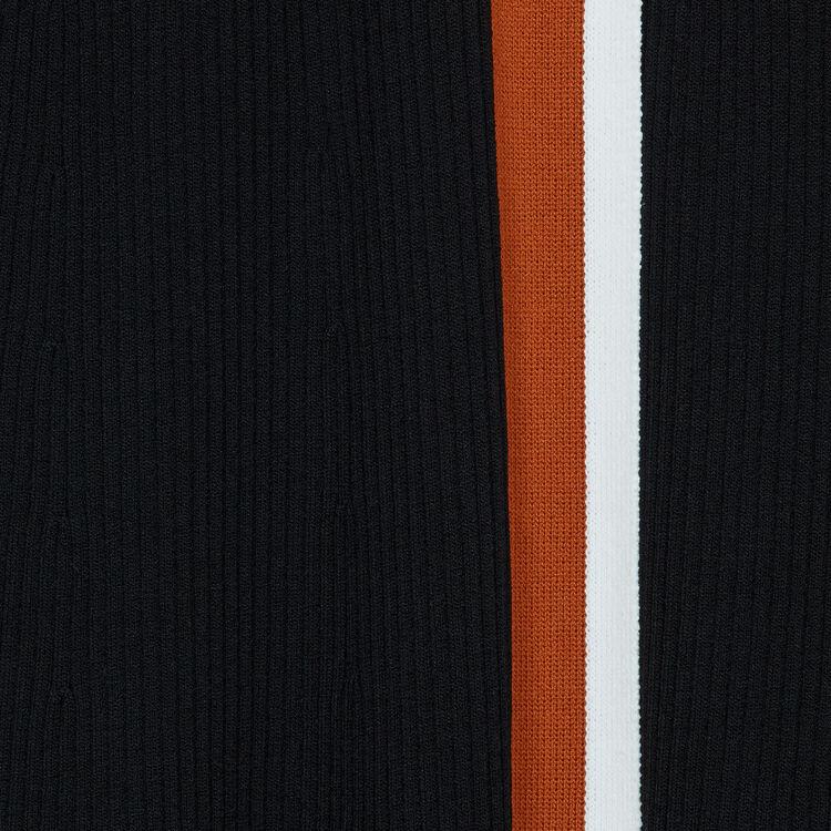 Vestito scalda cuore in maglia : Vestiti colore Nero
