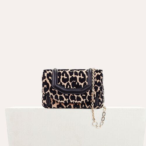 Borsa da sera con stampa leopardo : Black friday colore IMPRIME