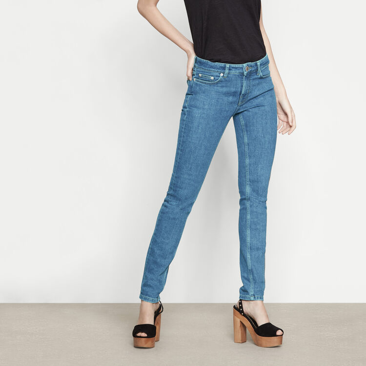 Jeans slim vita alta - Vedi tutto - MAJE