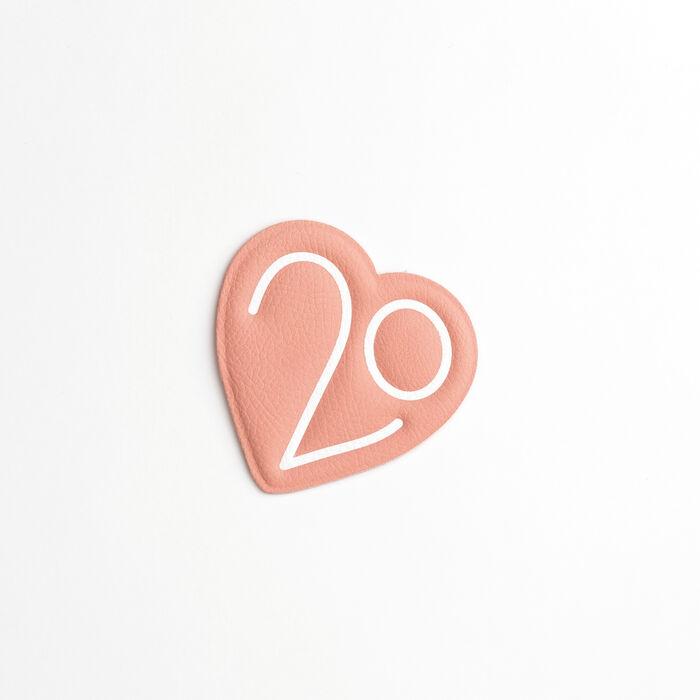 Una toppa  X 20 anni : Vedi tutto colore Rosa
