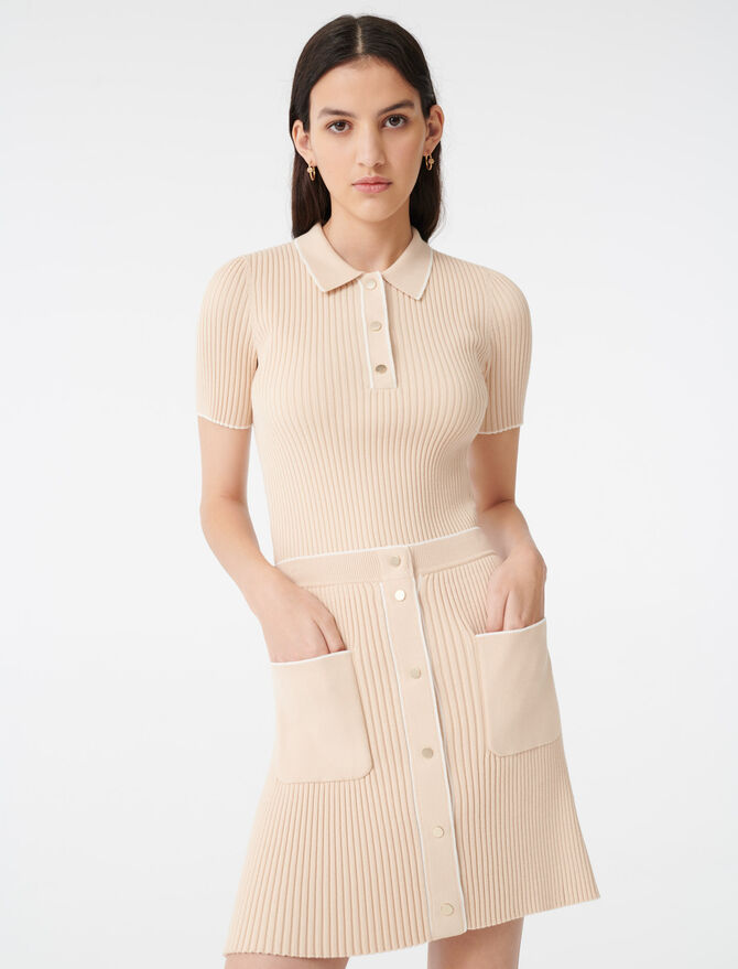 Gonna in maglia attillata - Gonne e shorts - MAJE
