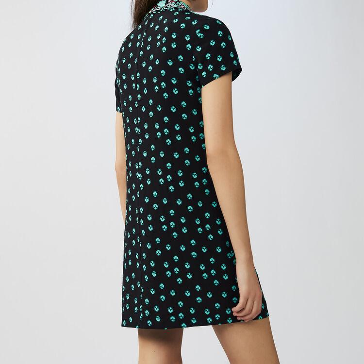 Vestito scamiciato stampato : Vestiti colore IMPRIME