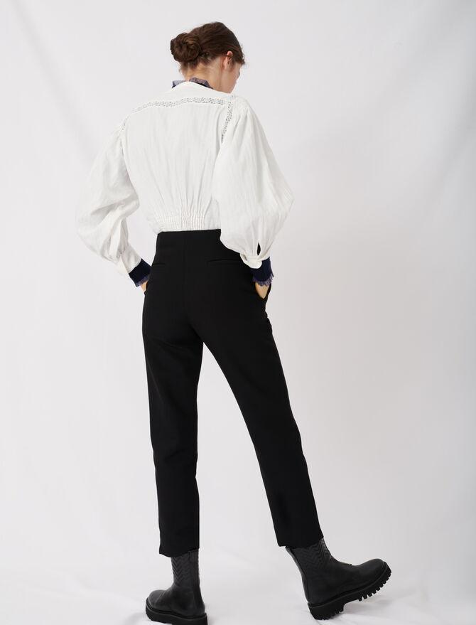 Straight pants belted - Pantaloni e Jeans - MAJE