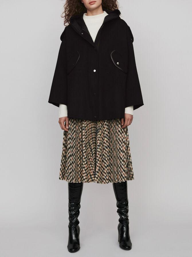 Cappotto stile cappa double face - Midseason-Sales_UK_30% - MAJE