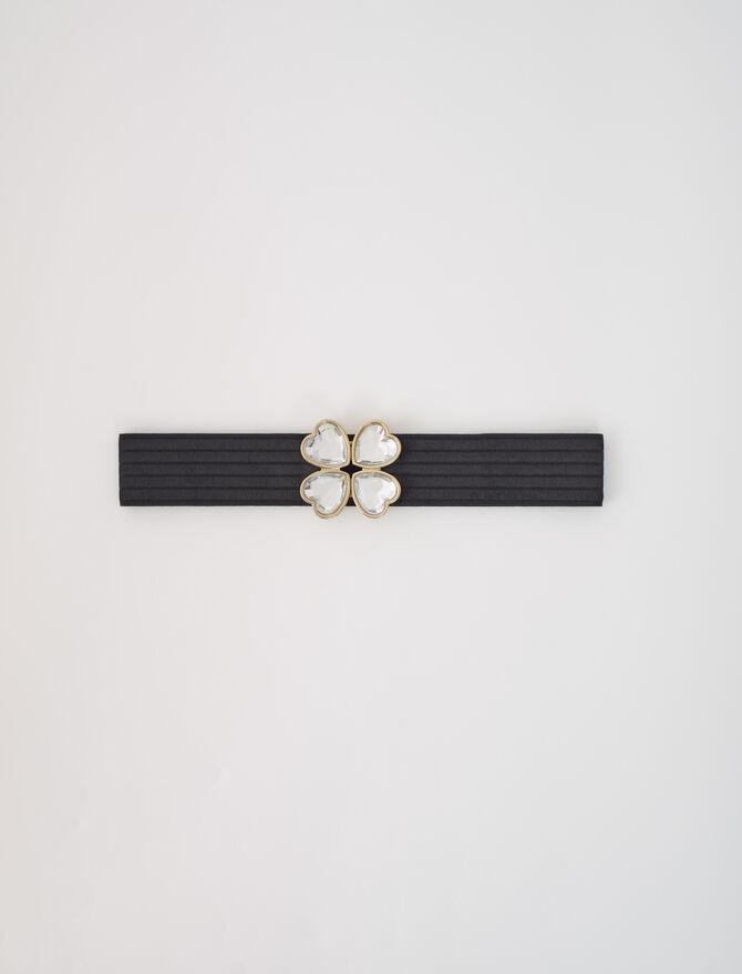 Cintura elasticizzata chiusura gioiello - Cinture - MAJE