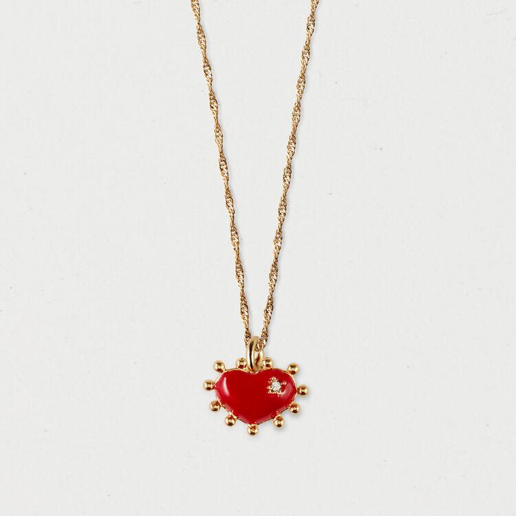 Collana cuore : Gioelli colore OR