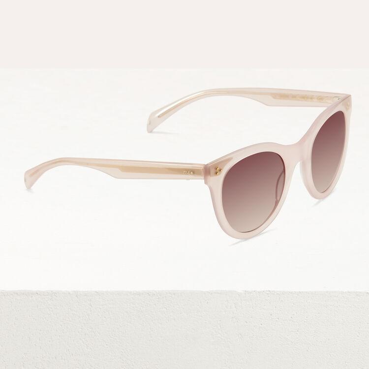 Occhiali da sole in acetato : Occhiali colore Rosa
