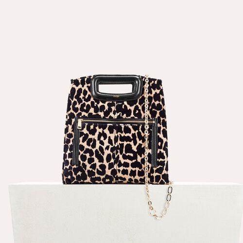 Borsa con stampa leopardo : Borse M colore IMPRIME