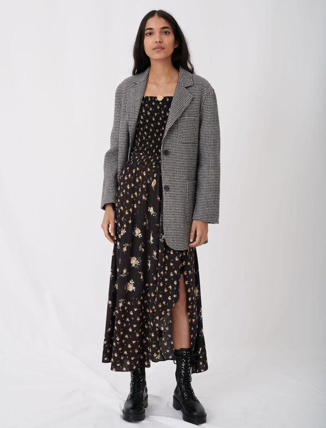 Cappotto a quadri stile giacca - Cappotti e Giubbotti - MAJE