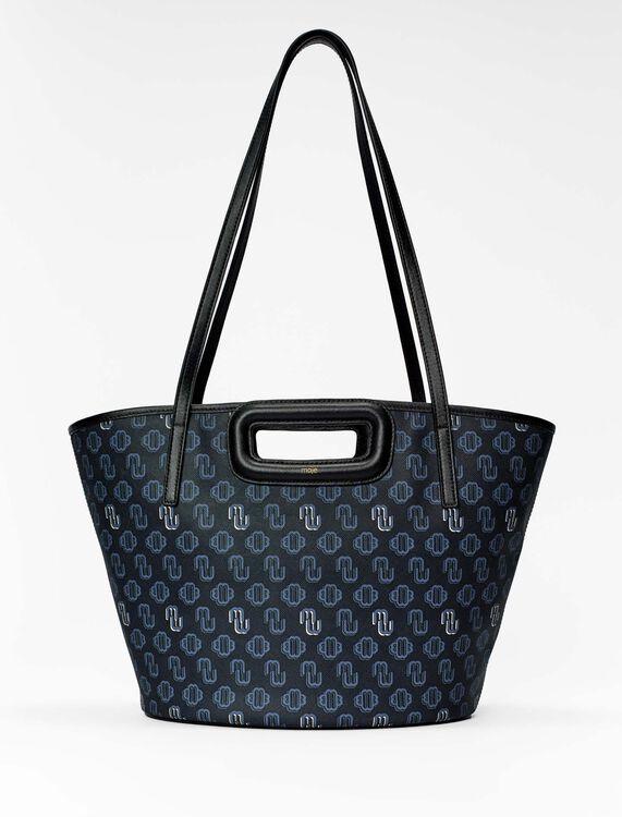 Shopper M in tela Clover - Nuova collezione - MAJE