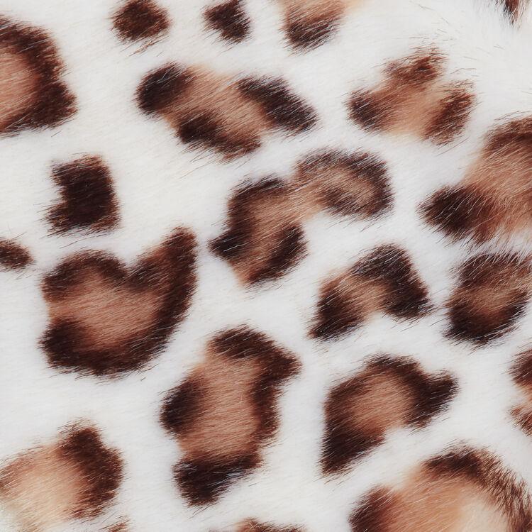 Scalda collo in finta pelliccia : Scialli & Poncho colore Multicolore