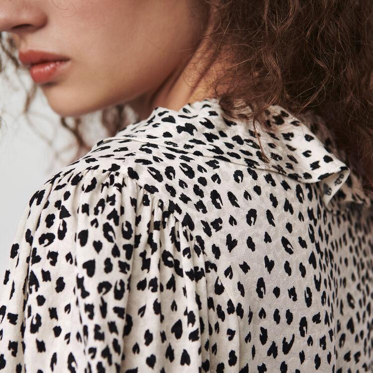 Vestito scalda cuore in  jacquard : Vestiti colore Bianco
