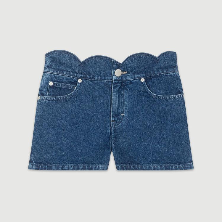 Pantaloncini in dénim : Gonne e shorts colore Denim