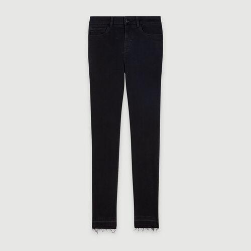 Jeans slim basici : Pantaloni e Jeans colore Antracite