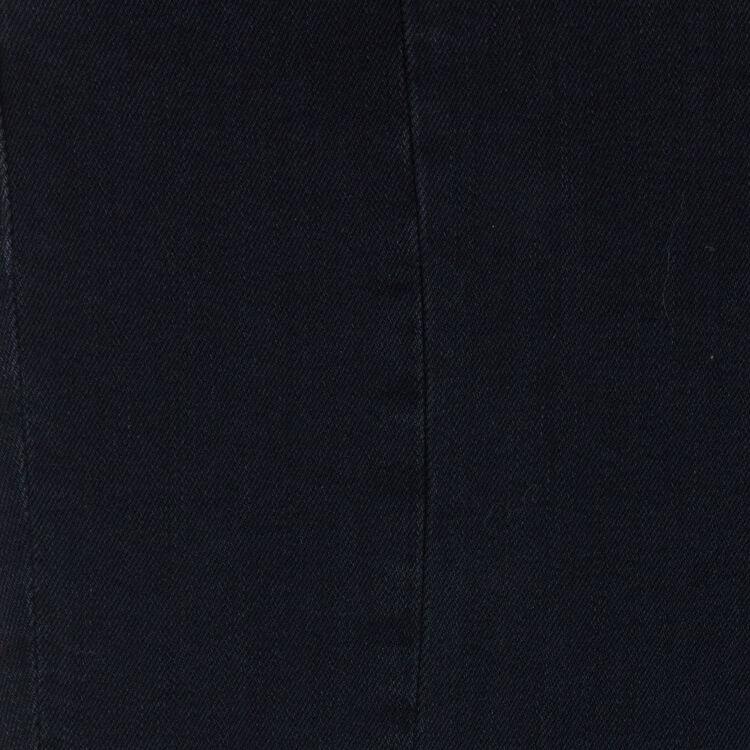Jeans asimmetrici con frange : Jeans colore Grigio