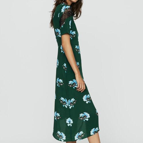 Vestito asimmetrico stampato : Vestiti colore IMPRIME