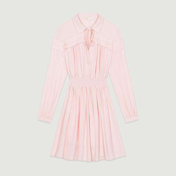 Shirt collar blouse : Vestiti colore LILA