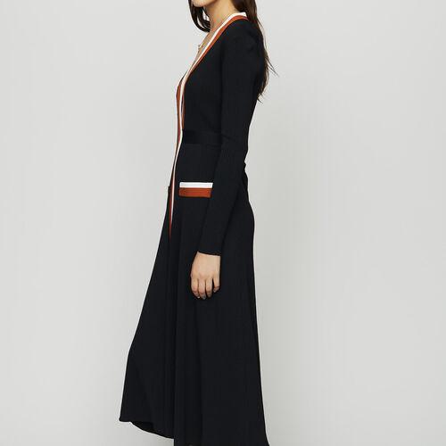Vestito scalda cuore in maglia : Vedi tutto colore Nero