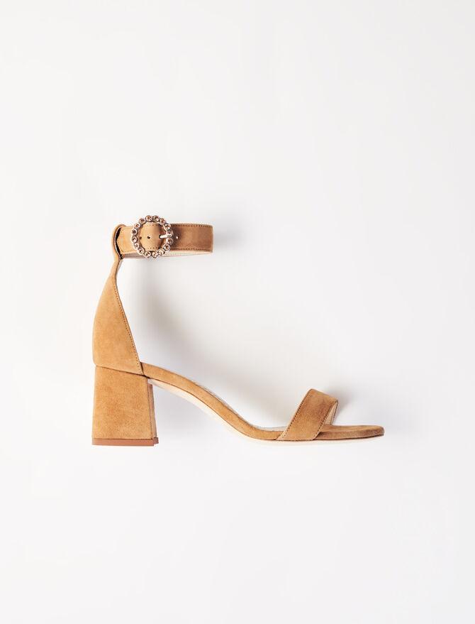 Sandali con tacco medio e cinturini - Sandali - MAJE