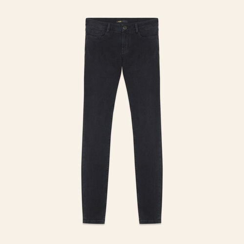 Jeans skinny in cotone Stretch : Jeans colore Antracite