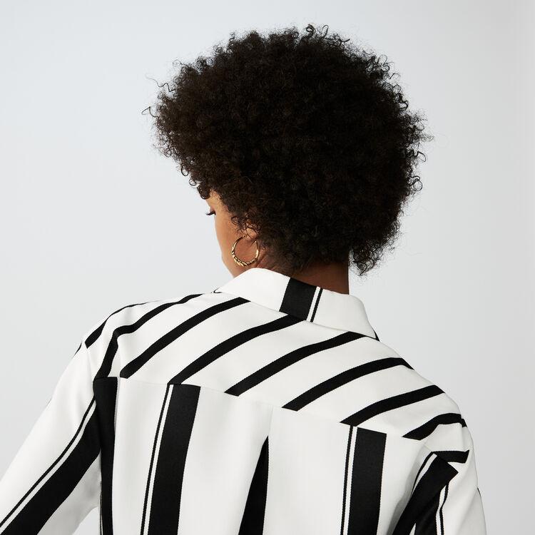 Scamiciato a righe : Vestiti colore A Righe